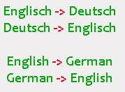 Texte einfach Online übersetzen lassen