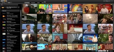 Zattoo Internet Fernsehen
