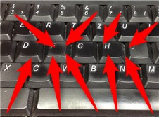 Zehn Finger schreiben