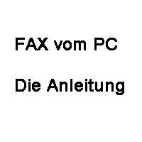 Fax Anleitung