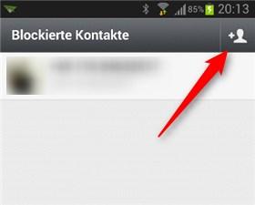 Whatsapp Kontakte Blockieren