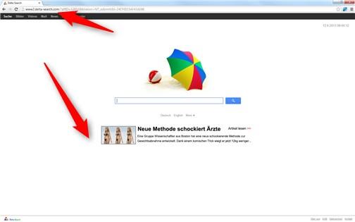 Delta Search Chrome