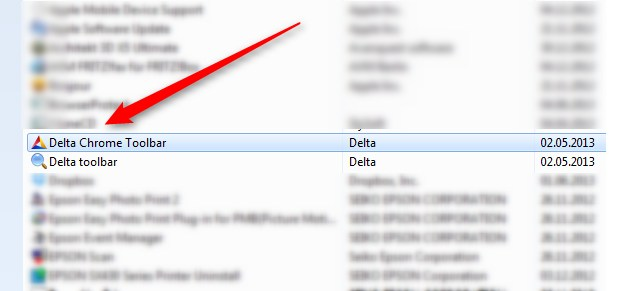 Delta Search Toolbar