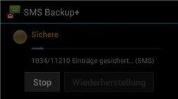 Whatsapp backup