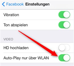 Autoplay Facebook iPhone